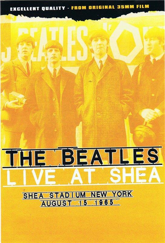 Beatles на стадионе Ши