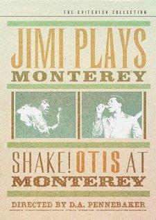 Джимми Хендрикс на рок-фестивале в Монтерее