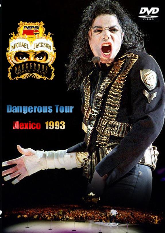 Живое выступление Майкла Джексона в Мехико: опасный тур