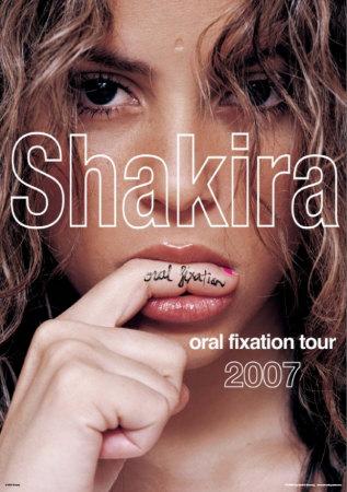 Шакира: оральная фиксация