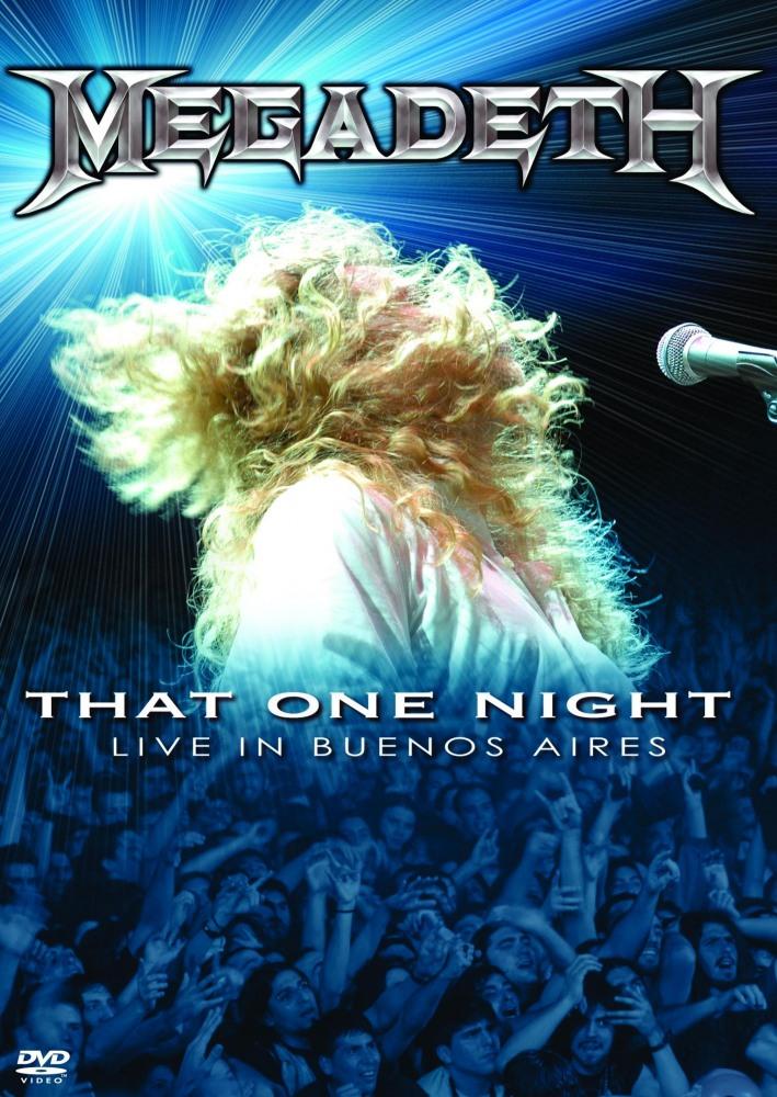 Megadeth, одна ночь: живое выступление в Буэнос-Айресе