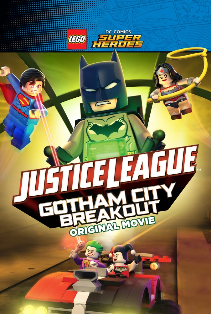 LEGO супергерои DC: Лига справедливости - Прорыв Готэм-сити